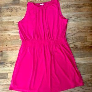 Gap Hot Pink Sleeveless Dress XXL